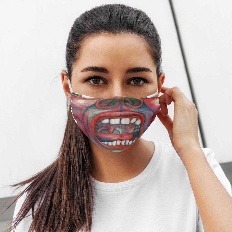 Crimson King face mask