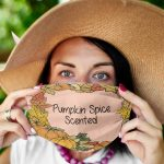 Pumpkin Spice Scented Cloth Face Mask