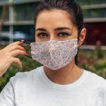 Kate Middleton Floral Face Mask