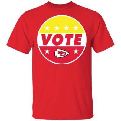 KC Chiefs Vote shirt