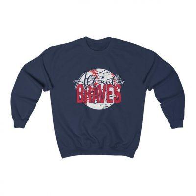 Atlanta Braves Baseball Sweatshirt