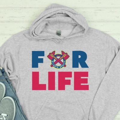 Atlanta Braves For Life Retro 1990 Hoodie sweatshirt