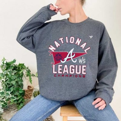 Atlanta Braves National League Champions 2021 World Series Sweatshirt