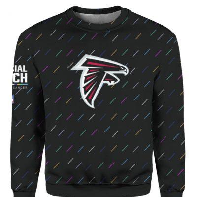 Atlanta Falcons 2021 NFL Crucial Catch Sweatshirt