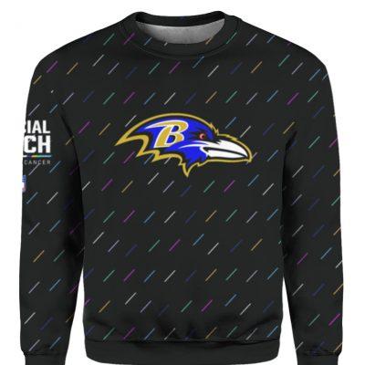 Baltimore Ravens 2021 NFL Crucial Catch Sweatshirt